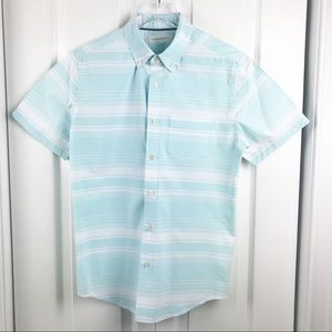 👕AEROPOSTALE BUTTON DOWN SHORT SLEEVE SHIRT SMALL